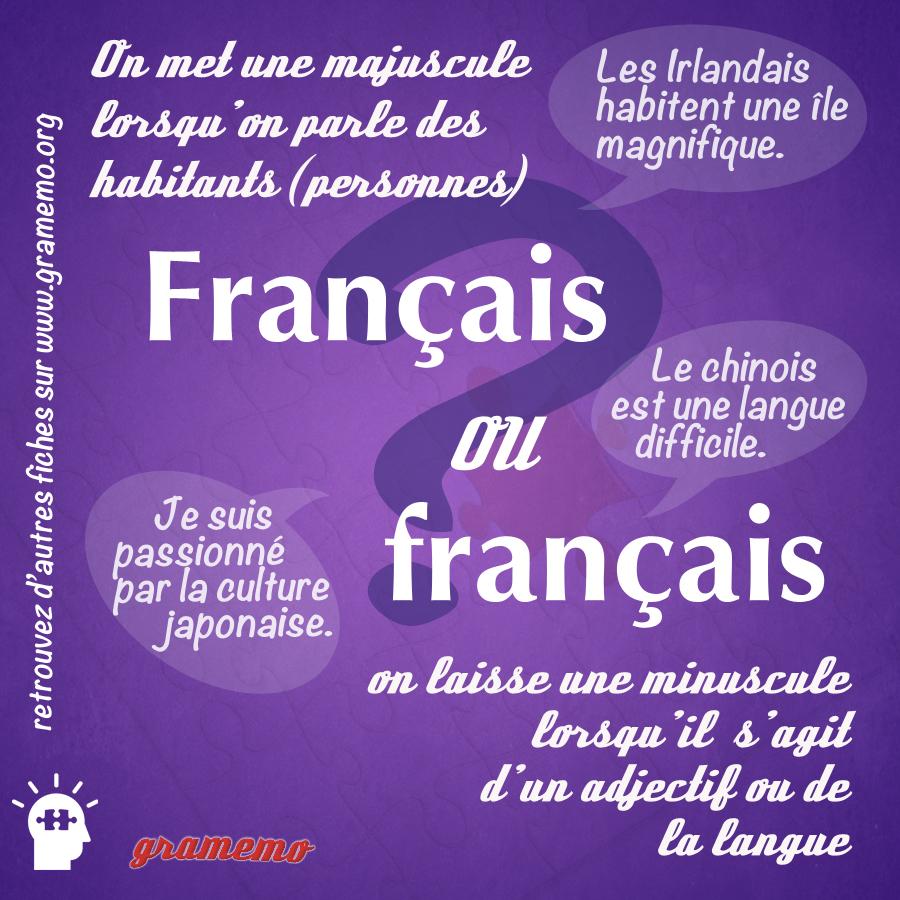 gramemohabitants  langues  adjectifs et majuscules
